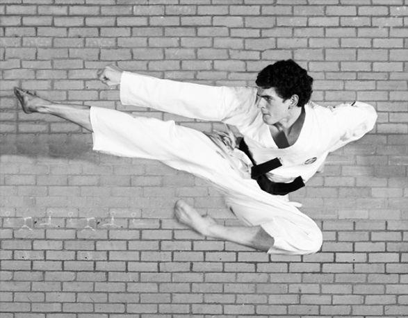 CTK Ben Flying Kick B&W photo.jpg
