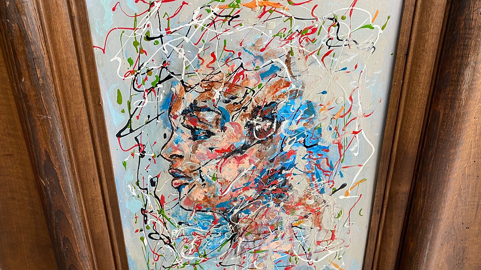 Abstract Portrait by R Monti