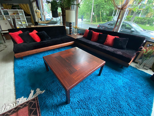 Rosewood cocktail table by Vejle Stole