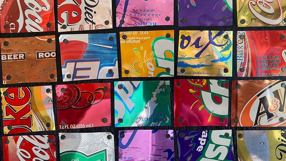 Modern Pop Art Soda Can Mirror