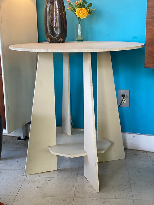 Vintage Abstract Table