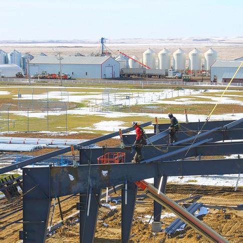 Working On Roof Beams.JPG