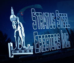 Stratus Steel Erectors Inc. Logo | Saskatoon, Saskatchewan Steel Building Erector & Construction Specialists