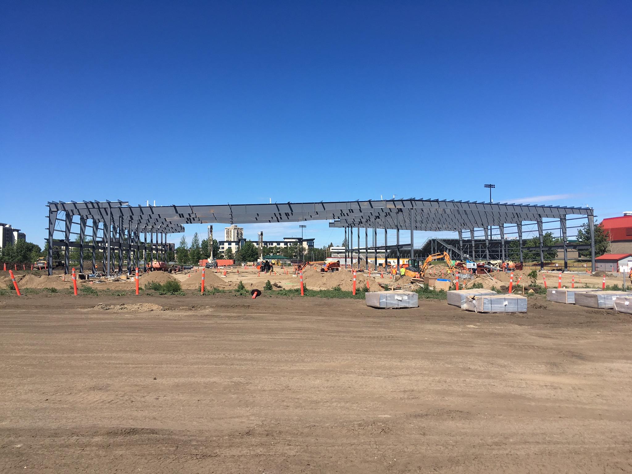 Merlis Belsher Arena U of S Saskatoon Sa