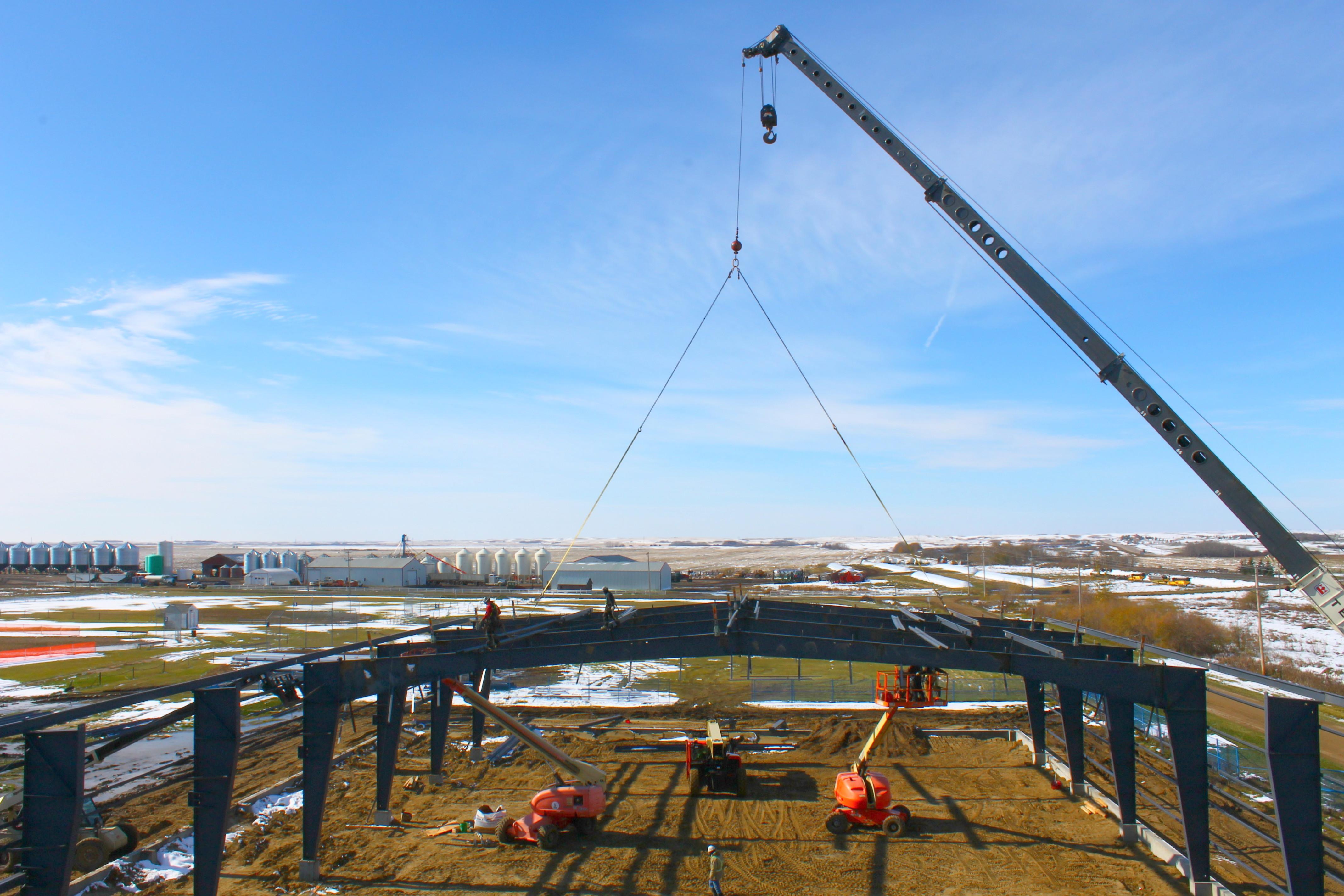 Crane Stratus Steel Pre-Eng Building
