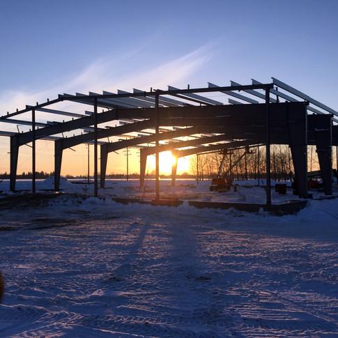 Pre-engineered Metal Building Package Steel Frame Nipawin Water Treatment Plant.jpg