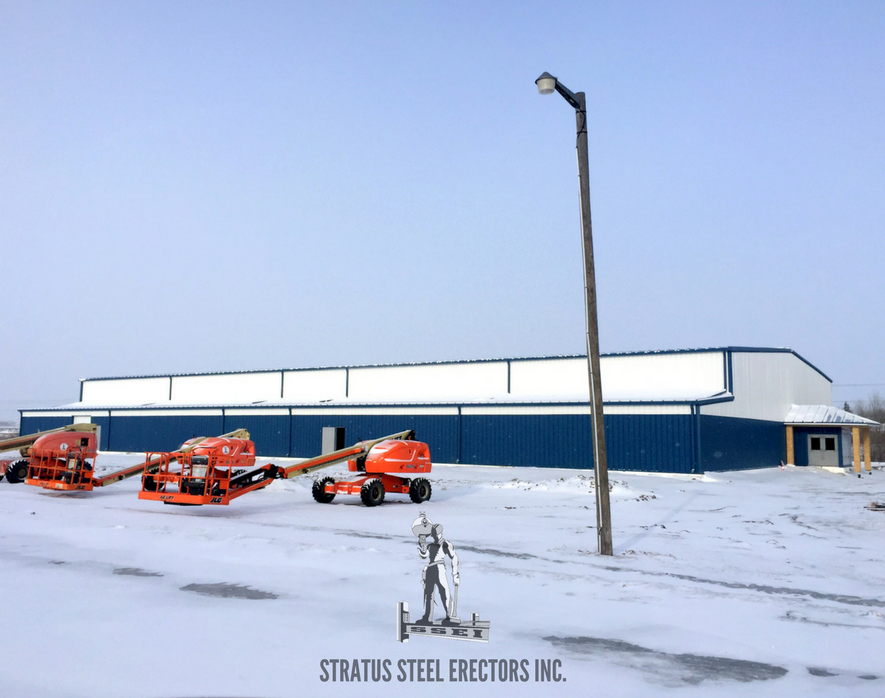 Perdue Hockey Arena Metal Siding Stratus