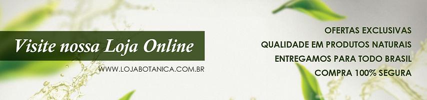 Botânica - Loja de Produtos Naturais Online