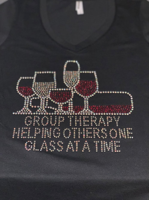 Group Therapy Helping One Glass at a Time