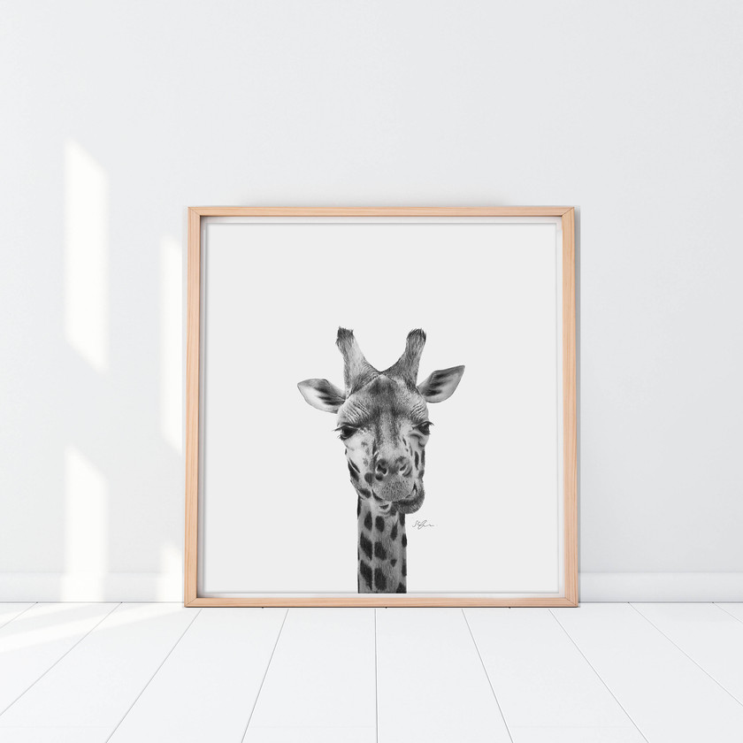 Giraffe by Sophie Green