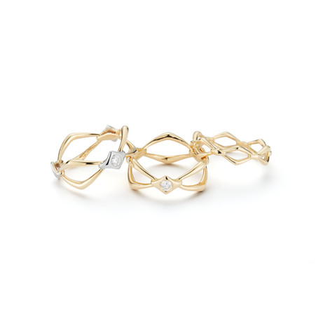 18k Yellow Gold Rings