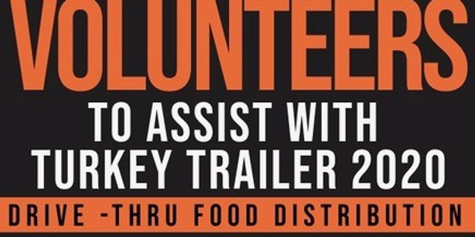 Turkey Trailer Food Distribution