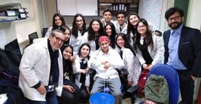 Visita estudiantes Liceo Santa Cruz