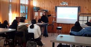 Charla de Neurociencias y adicciónes en Liceo Hector Perez Biott de Talca