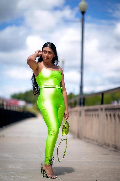 Lime A Rita Jumpsuit
