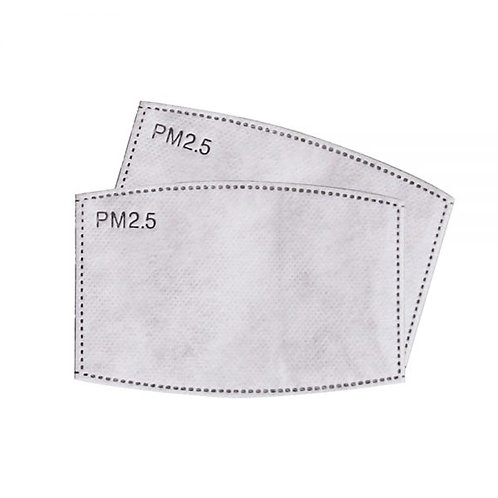 Disposable Filters for Adults Washable Masks
