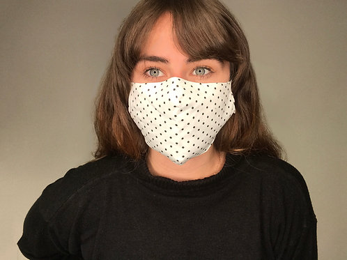 Adults Washable Masks – Meets WHO Guidance (Polka Dot)