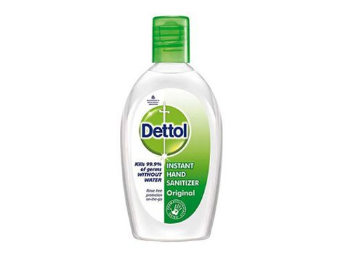 Dettol On The Go Antibacterial Hand Gel Aloe Vera 50ml