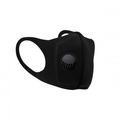 Durable Neoprene Respiratory Face Mask With Valve (Individually Wrapped)