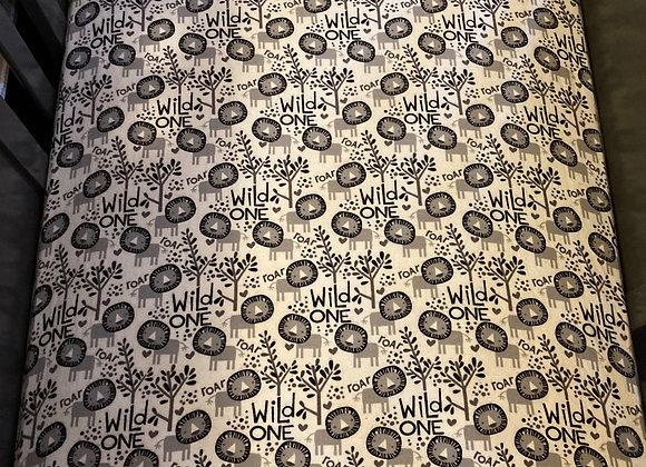 Wild One Crib Sheet