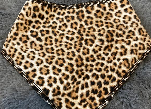 Leopard Bandana Bib