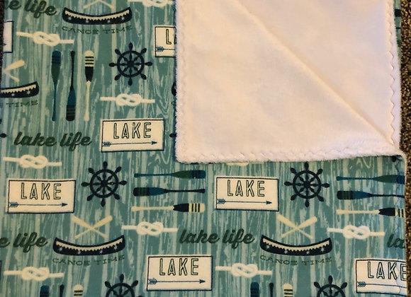 Blue Lake Blanket
