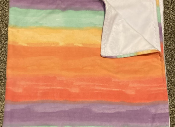 Watercolor Wave Blanket