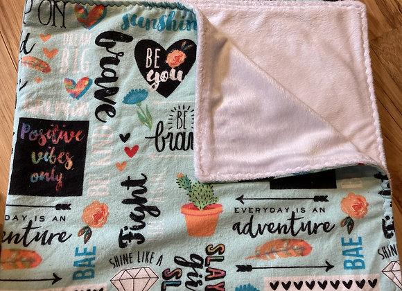 Girl Power Blanket