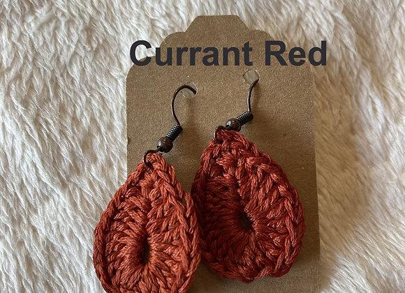 Tear Drop Crochet Earring