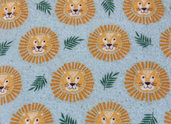 Leo the Lion Crib Sheet