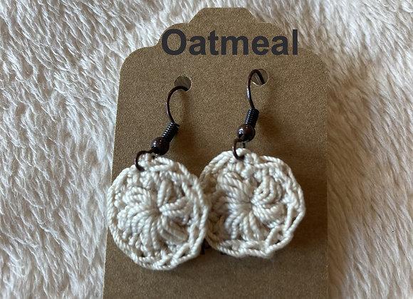 Small Crochet Earrings