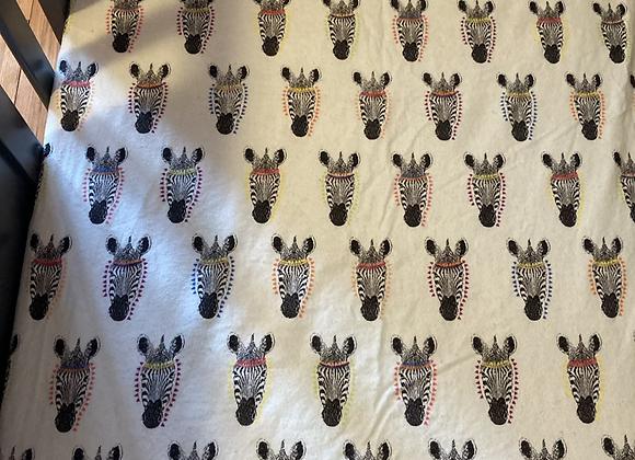 Zebra Crib Sheet