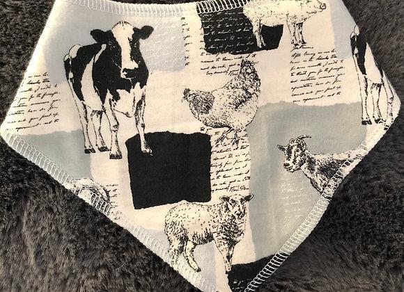 Farm Animal Bandana Bib