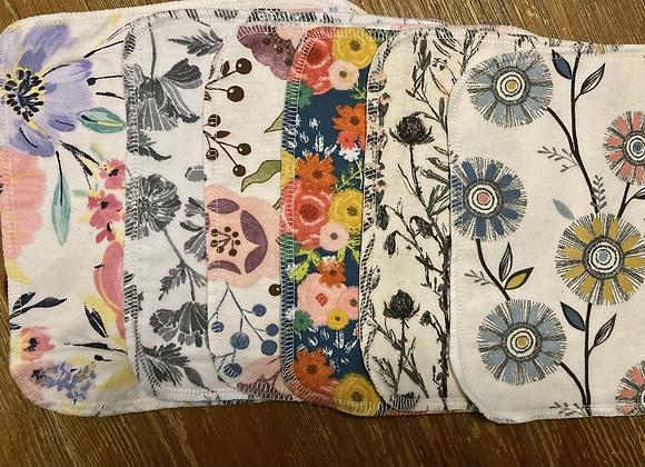 Floral Washcloth Set