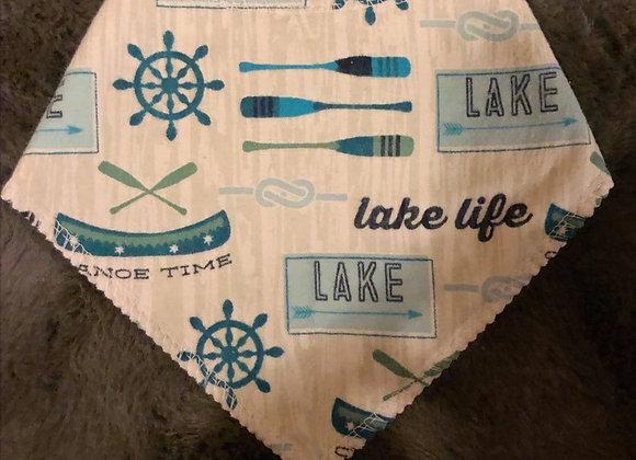 Lake Life Bandana Bib