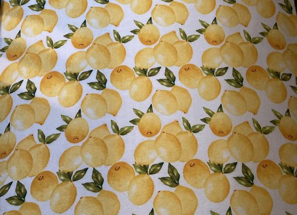 Lemon Crib Sheet