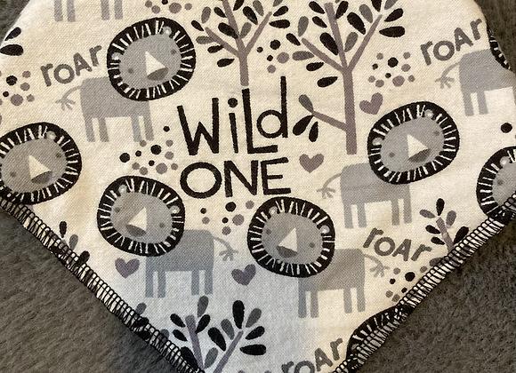 Wild One Bandana Bib