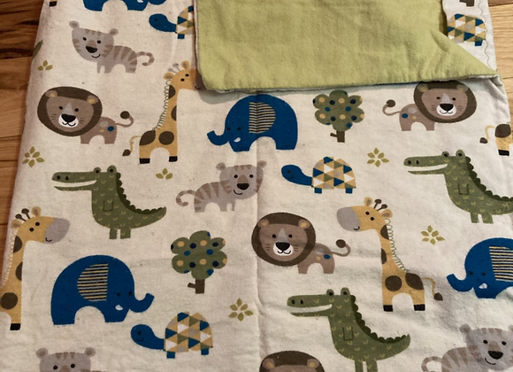 Safari Animal Pack and Play Sheet