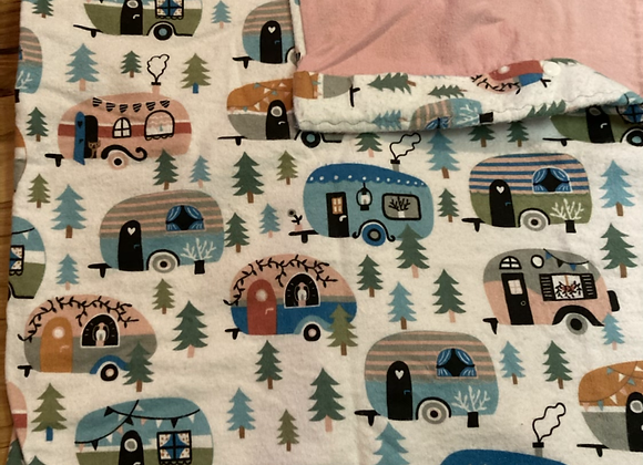 Shabby Chic Camper Pack and Play Sheet
