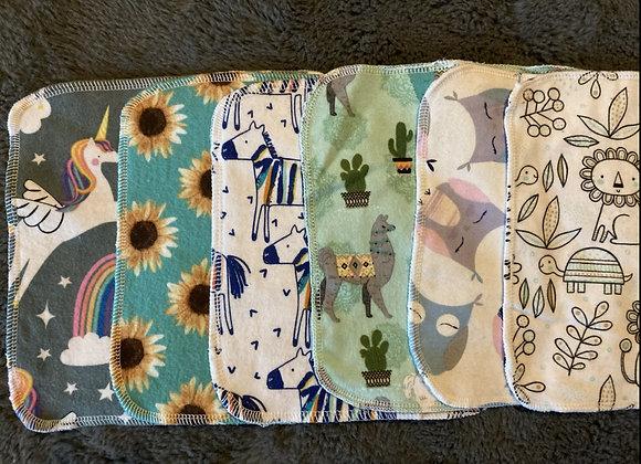 Little Miss Washcloth Set