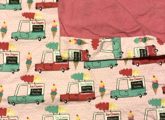 Ice Cream Truck  Pack and Play Sheet