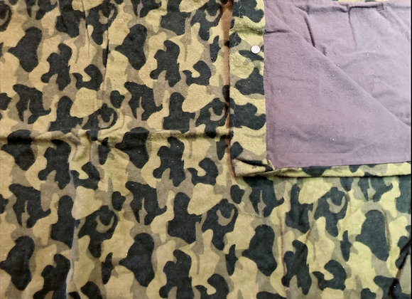 Camo Pack and Play Sheet
