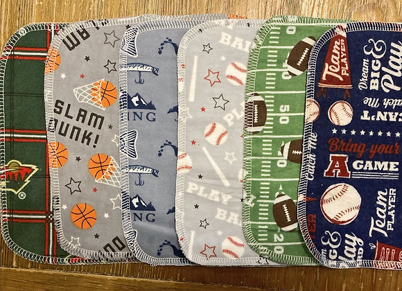All Star Washcloth Set