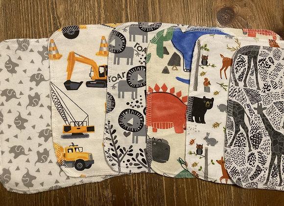 Toddler Tot Washcloth Set