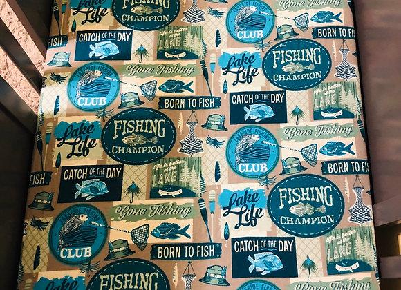 Fishing Crib Sheet
