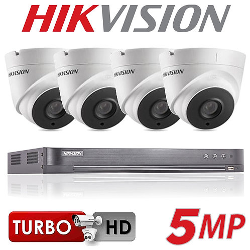 4x5MP HIKVISION CCTV SYSTEM €1200 -3X5MP €1100-2x5MP€999 INCLUDES INSTALLATION
