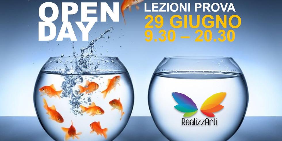 Open Day 2 - Lezioni prova gratuite