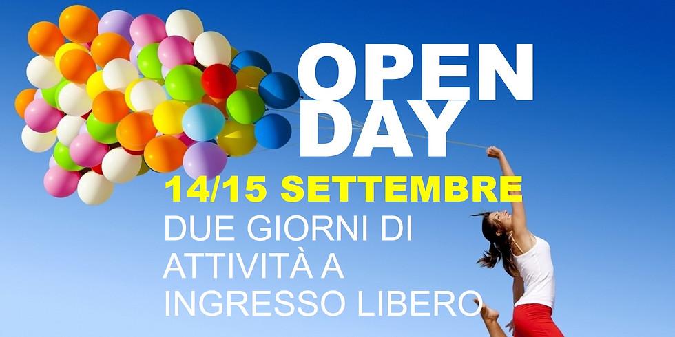 Open Day - Due giornate di attività a ingresso libero