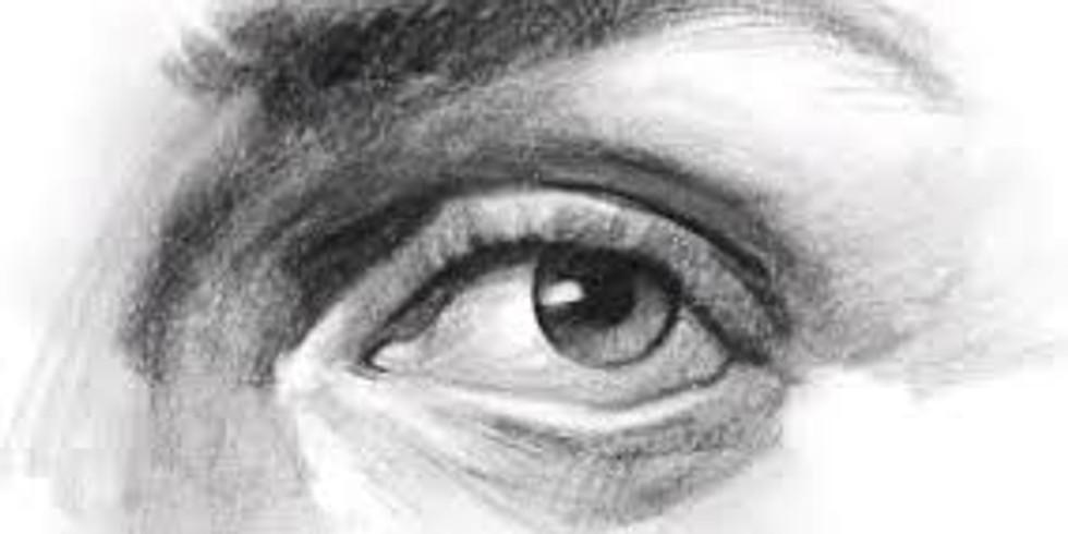 """Il Chiaroscuro a matita - """"L'occhio"""""""