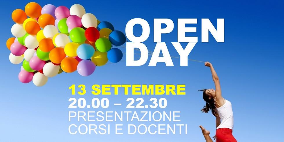 Open Day - Presentazione corsi e docenti